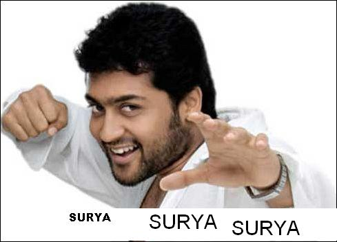 Surya for Udayanidhi Stalin s